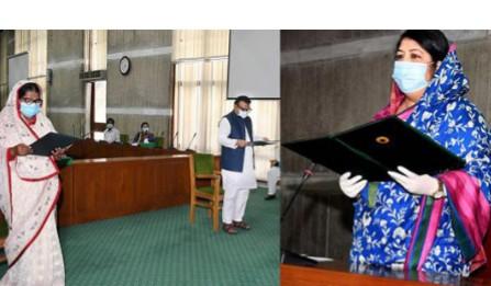শপথ নিলেন বগুড়া-১ ও যশোর-৬ আসনে নির্বাচিত দুই সংসদ সদস্য