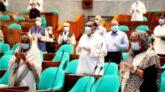 প্রণব মুখার্জি এবং দু'জন সংসদ সদস্যের মৃত্যুতে সংসদে শোক প্রস্তাব গৃহীত
