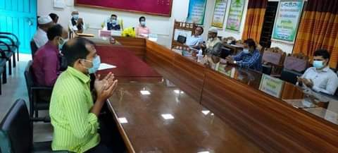 অধ্যাপক মৃণালকান্তি মিত্র ও অধ্যাপক বদরুল আলম স্মরণে শ্রীমঙ্গল সরকারি কলেজে শোকসভা