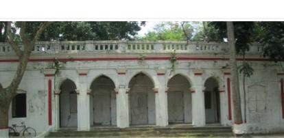 শ্রীমঙ্গলে ত্রিপুরা মহারাজার কাছাড়ি বাড়ী