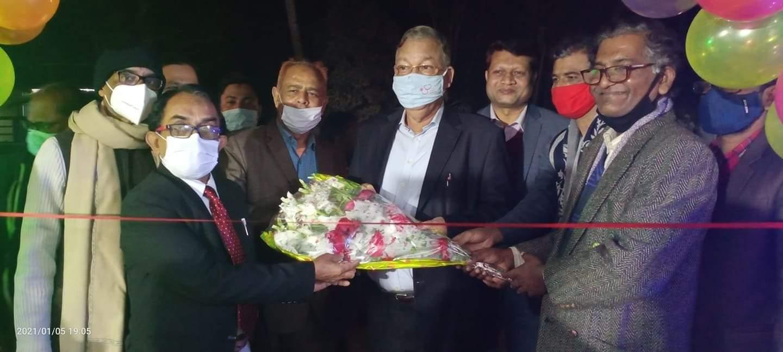 শ্রীমঙ্গল প্রেসক্লাবের নবনির্মিত কমপ্লেক্সের উদ্বোধন করলেন ড. মো: আব্দুস শহীদ এমপি